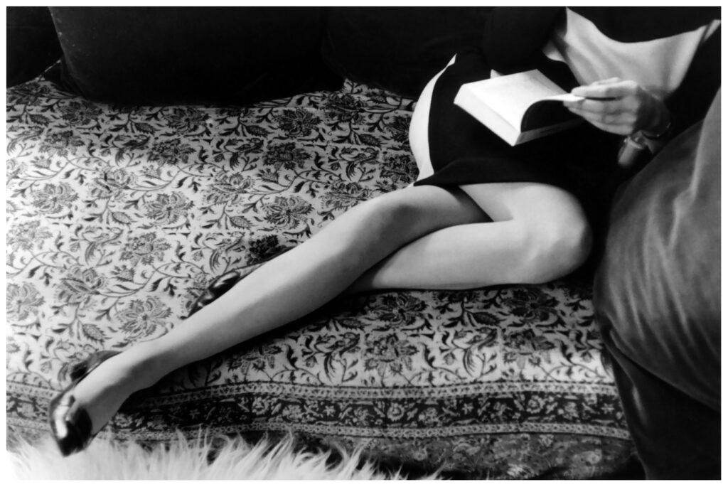 Henri Cartier Bresson, le Gambe di Martine 1967