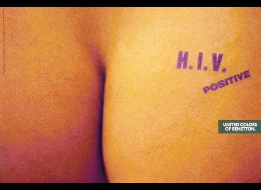 Benetton HIV positive - Pinterest