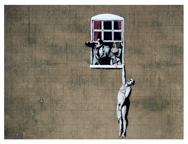 Banksy - Cheating