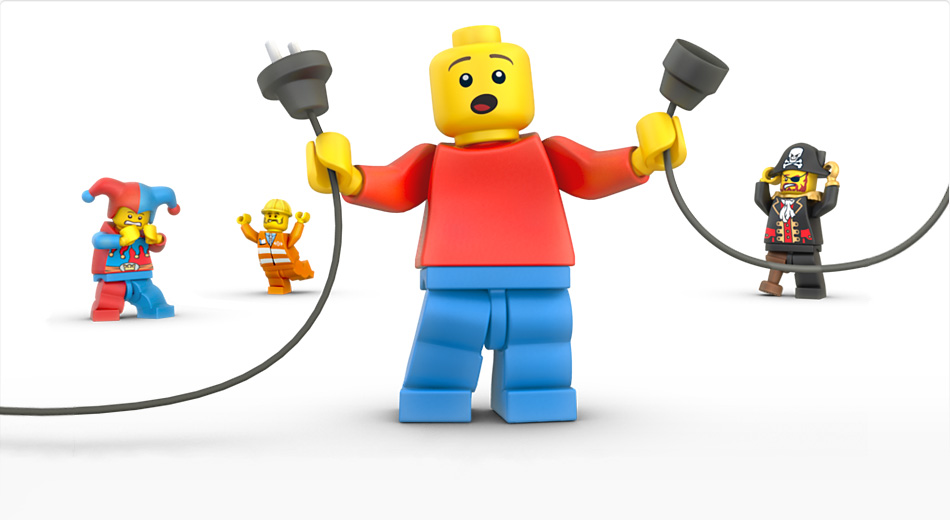 Pagina 404 creativa Lego