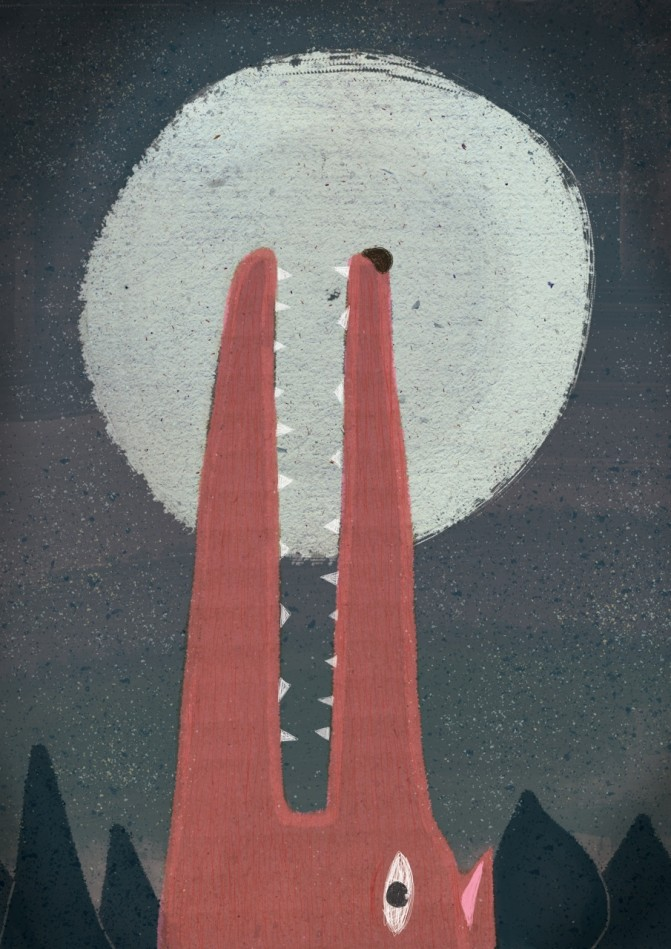 bark at the moon- Emmanuel Olives