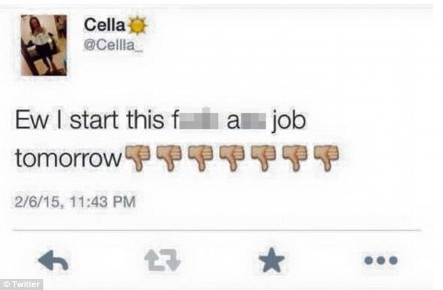 Il tweet di Cella