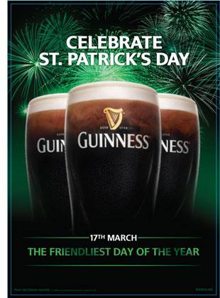 Guinness San Patrizio