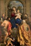 Pietro da Cortona Madonna con Bambino e i Santi