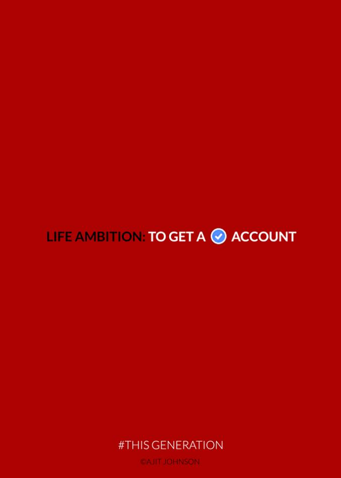 This Generation: Life Ambition