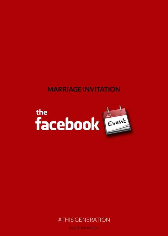 This Generation: Marriage Invitation