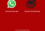 This Generation: WhatsApp VS Book