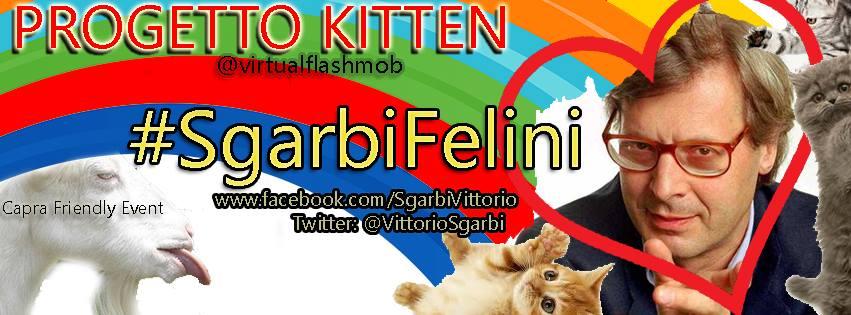 Sgarbi Felini- flash mob