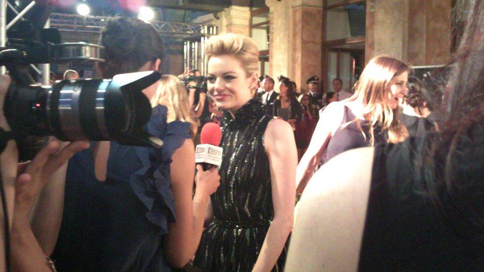 Chiara Guida con Emma Stone