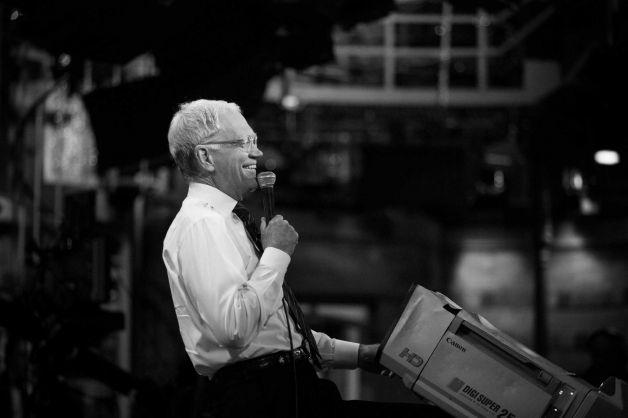 David Letterman fotografato da Damon Winter