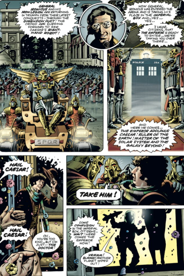 Doctor Who strip