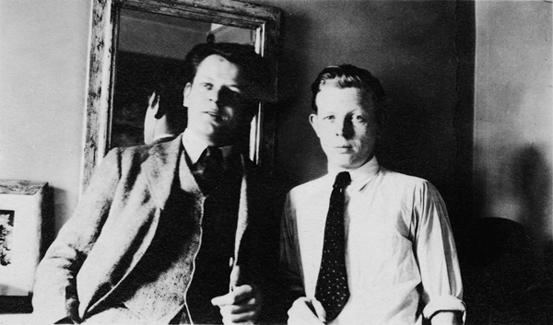 Jackson e Charles Pollock