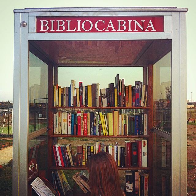 La Bibliocabina di Torresina a Roma
