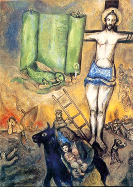 Marc-Chagall-Crocifissione-in-giallo