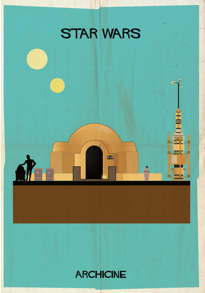 "ARCHICINE ""Star Wars""  © Federico Babina"