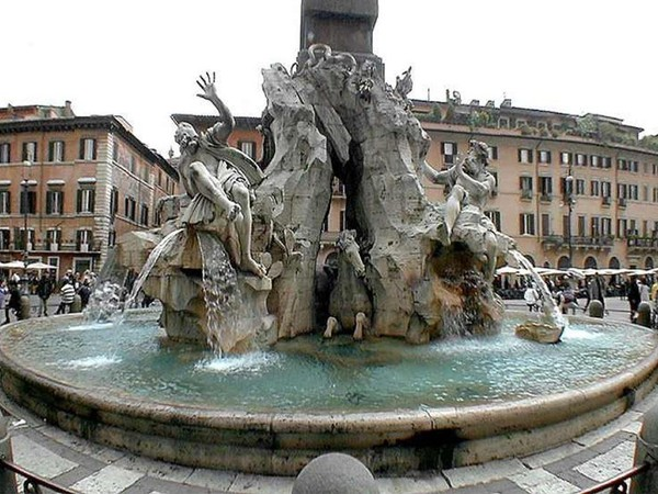 Bernini_Fontana quattro fiumi