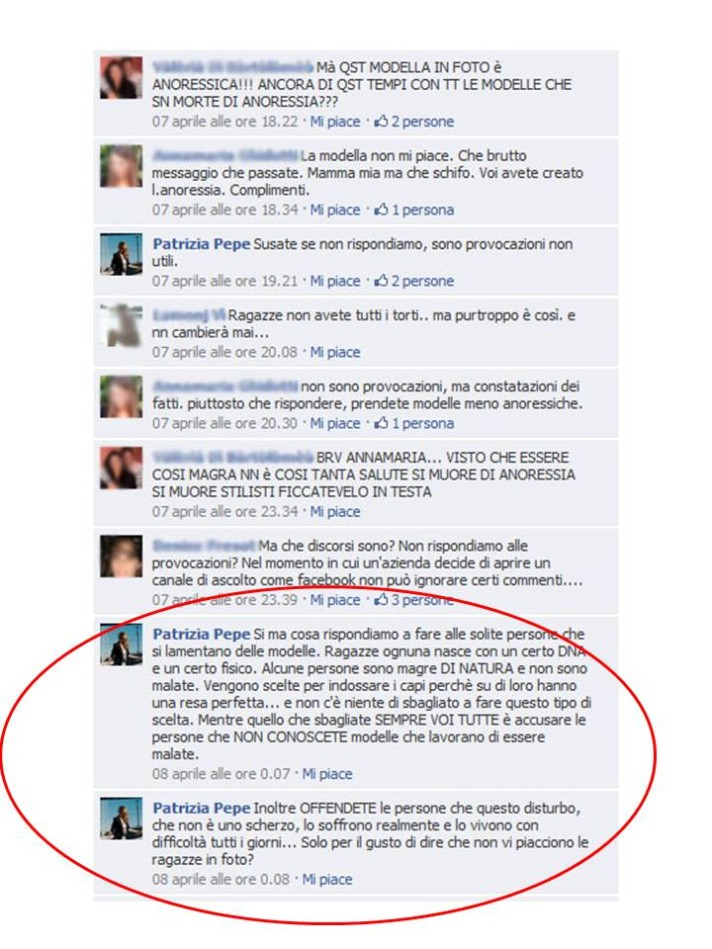 Patrizia Pepe epic social fail