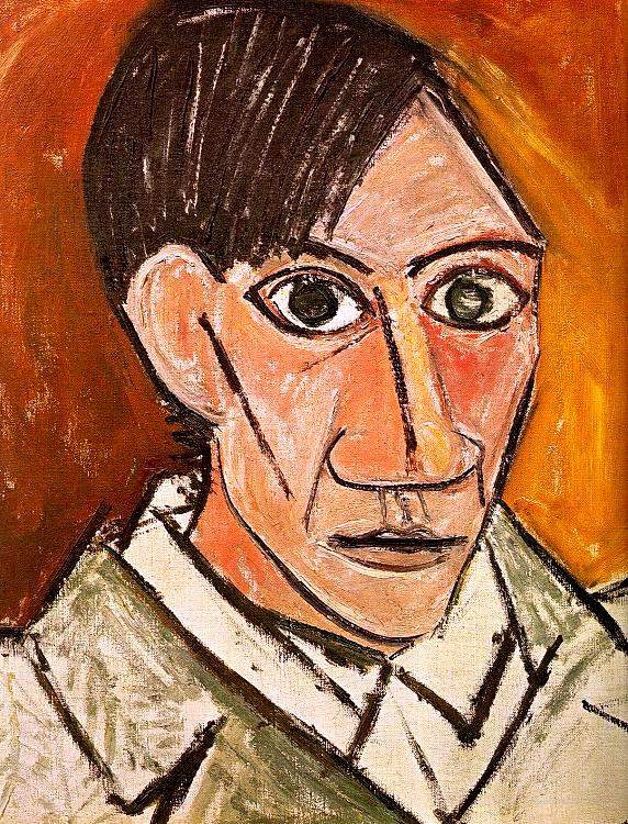 Pablo Picasso_Autoritratto