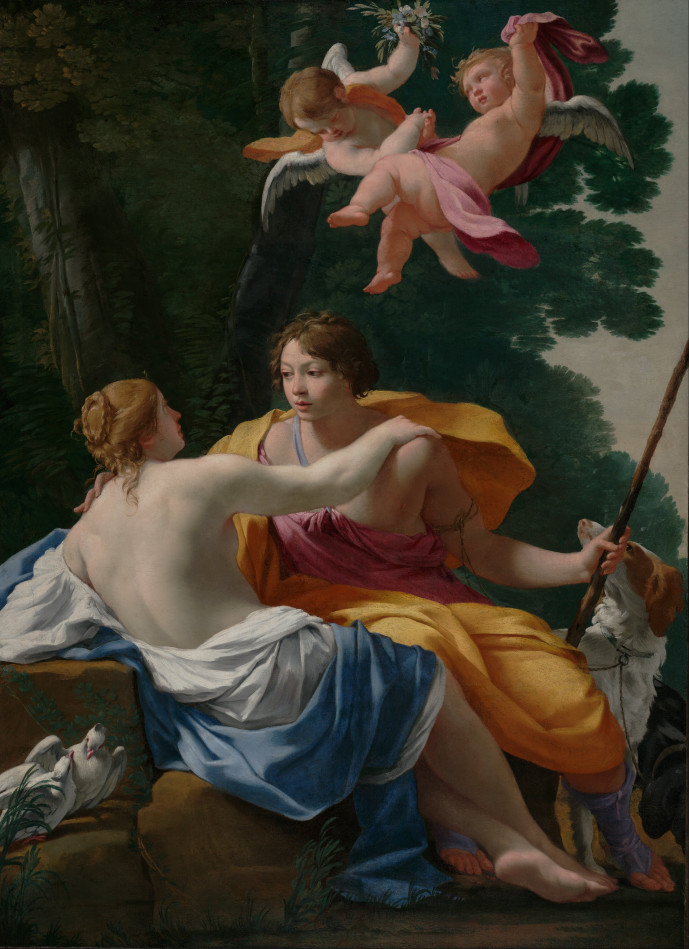 Simon Vouet_Venus and Adonis
