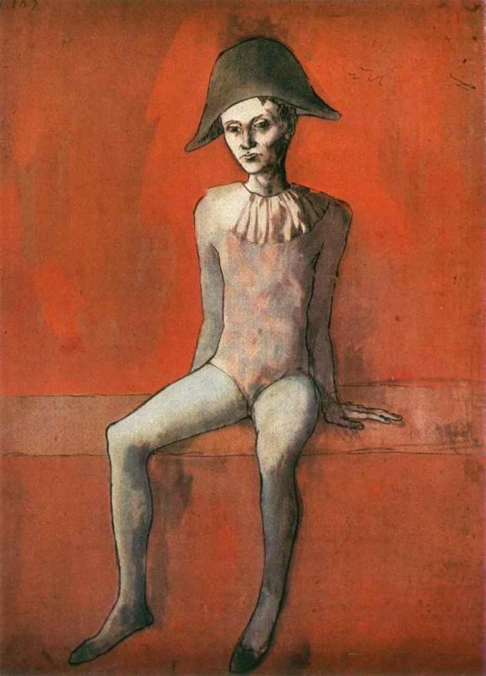 Pablo Picasso_Harlequin