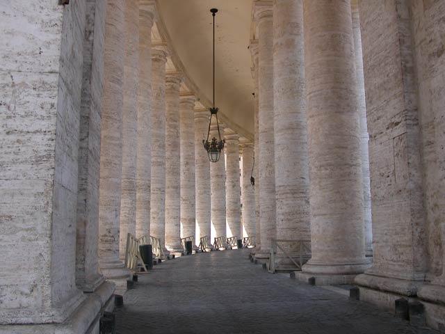 Bernini_Colonnato piazza San Pietro