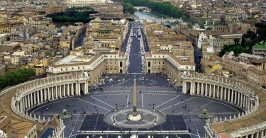 Bernini_Colonnato piazza San Pietro