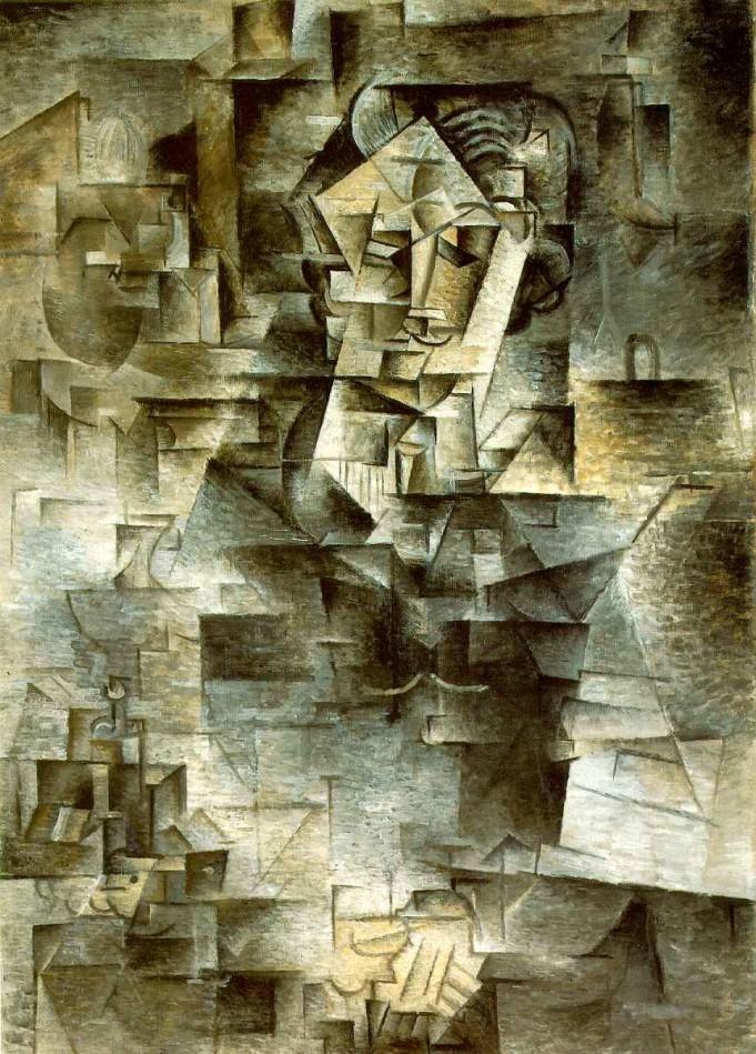 Pablo Picasso_Portrait of Daniel Henry Kahnweiler