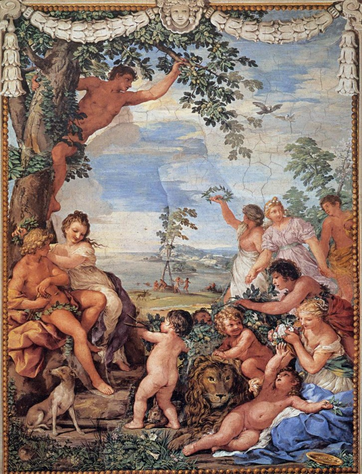 Pietro da Cortona_The age of gold_Palazzo Pitti