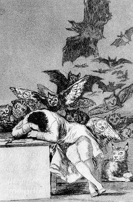 Il sonno della ragione genera mostri - Goya (1979)