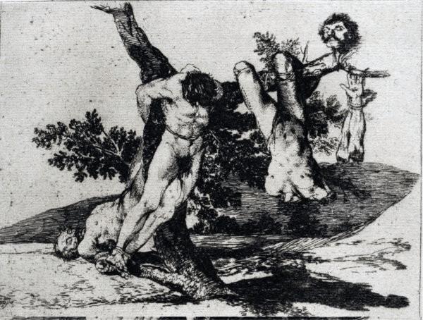 I disastri della guerra - Goya