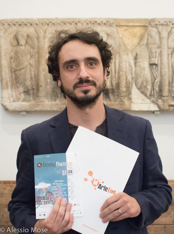 Francesco Lo Brutto alla Conferenza stampa MArteLive