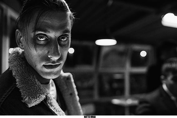 Luca Marinelli fotografato da Matteo Graia