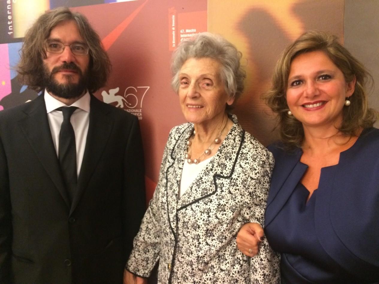 Giordano Meacci, Adelina Ponti e Francesca Serafini