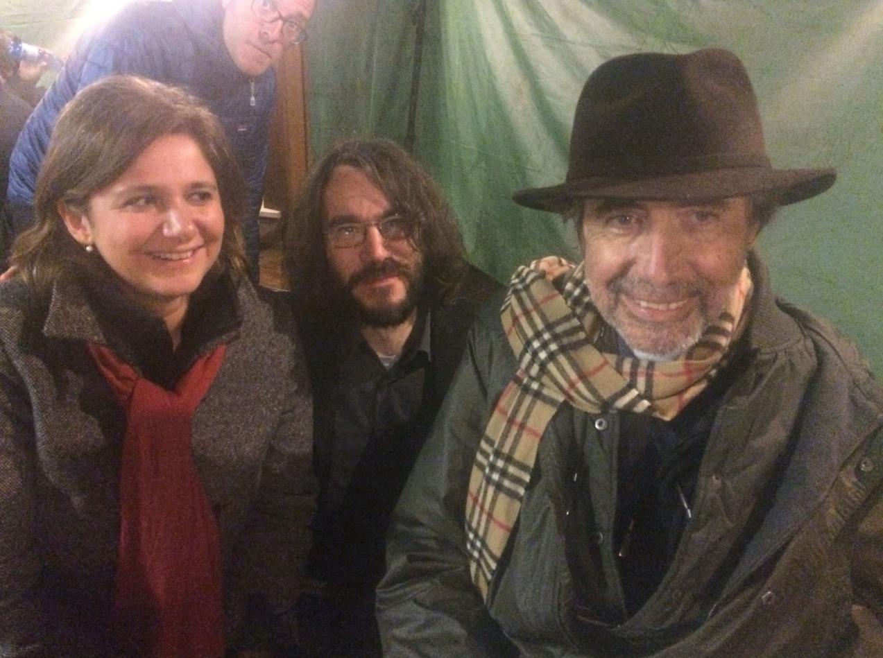 Francesca Serafini, Valerio Mastandrea, Giordano Meacci e Claudio Caligari