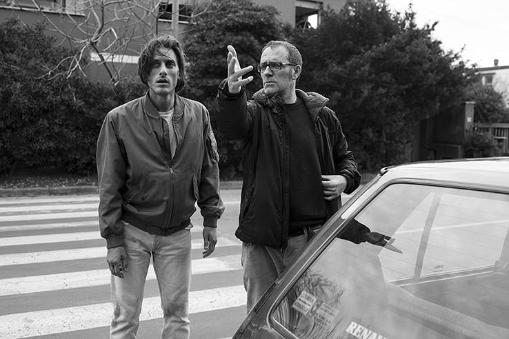Luca Marinelli e Valerio Mastandrea, foto di Matteo Graia
