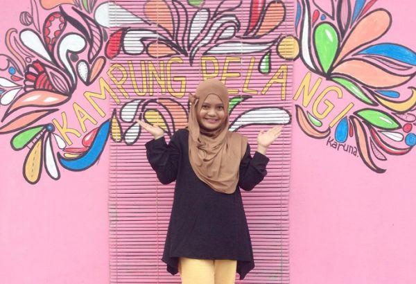 Street art villaggio Kampung Pelangi
