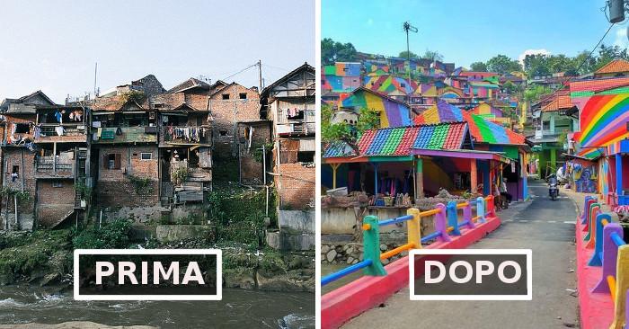 "Kampung Pelangi, il ""villaggio arcobaleno"""