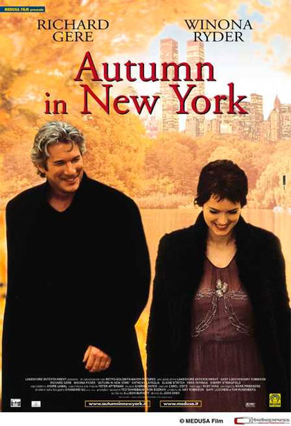 locandina autumn in new york