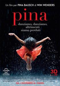 locandina film pina - wim wenders