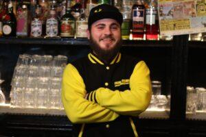 Manuel Di Cecco barman Freni e Frizioni di Roma