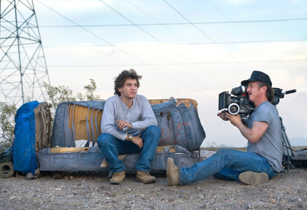 Emile Hirsch protagonista del film into the wild